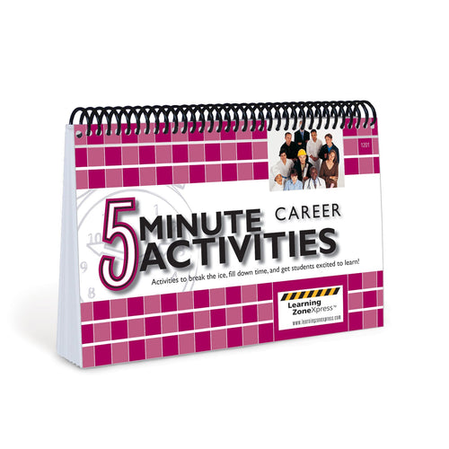 5 Minute Career Exploration Activities