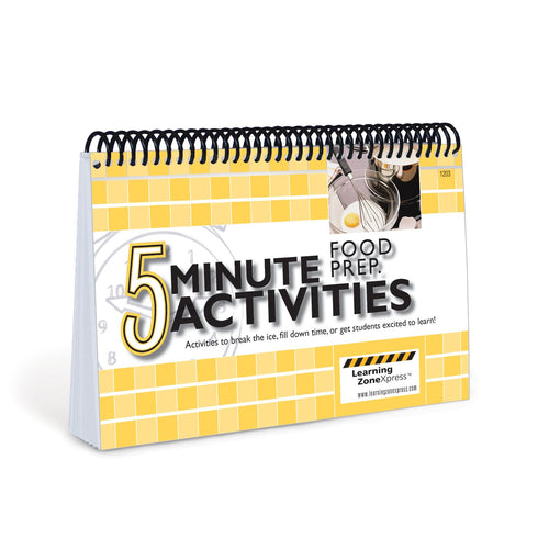 5 Minute Food Prep Activities