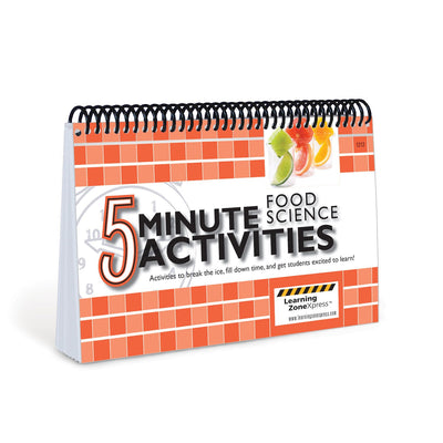 5 Minute Food Science Activities