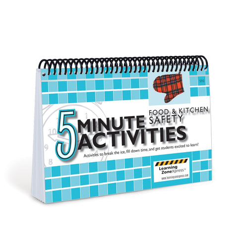 5 Minute Food & Kitchen Safety Activities