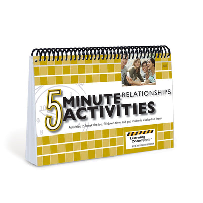 5 Minute Relationships Activities