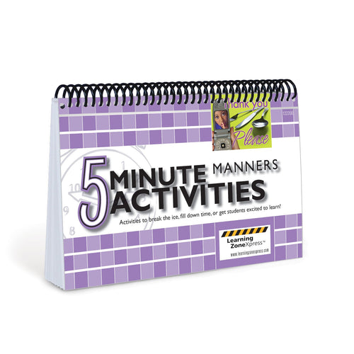 5 Minute Manners Activities