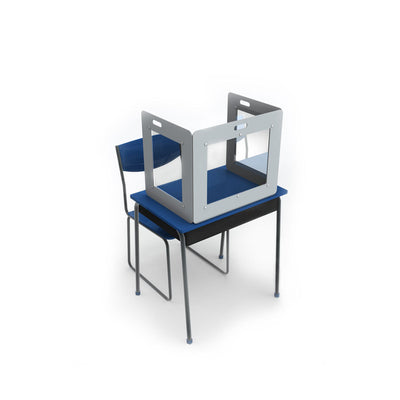 Classroom Three-Sided Portable Desk Shield