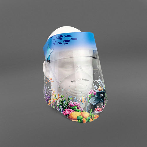 Adult Face Shields with Child-Friendly Designs (3 designs)
