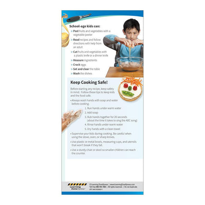 Cooking with Kids Education Cards