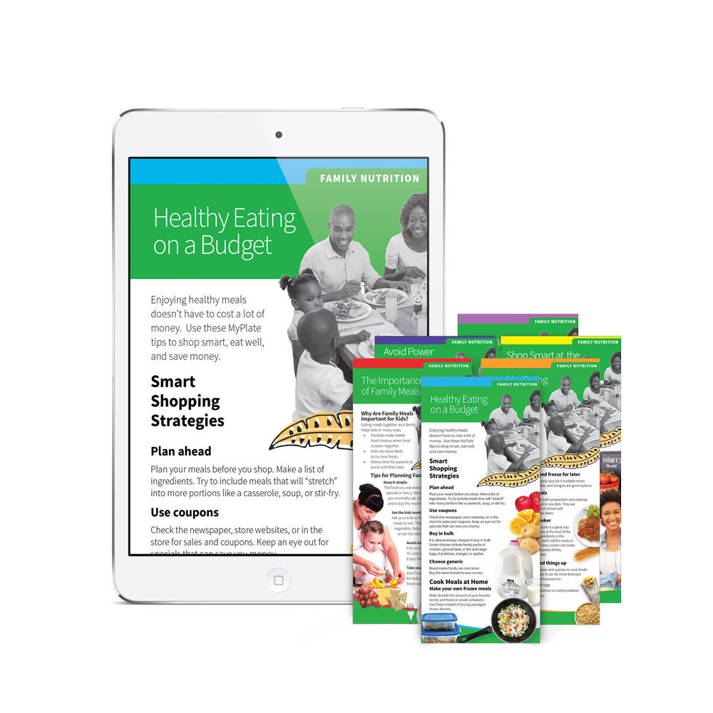 Family Nutrition Education Cards Digital Subscription