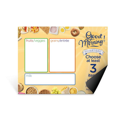 Breakfast Easy Mag-Mount Menu Panel