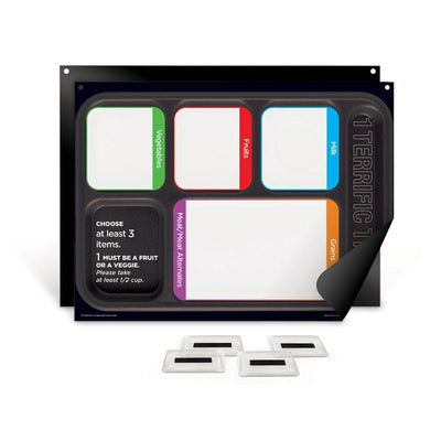 1 Terrific Tray™ Easy Mag-Mount Menu Panel