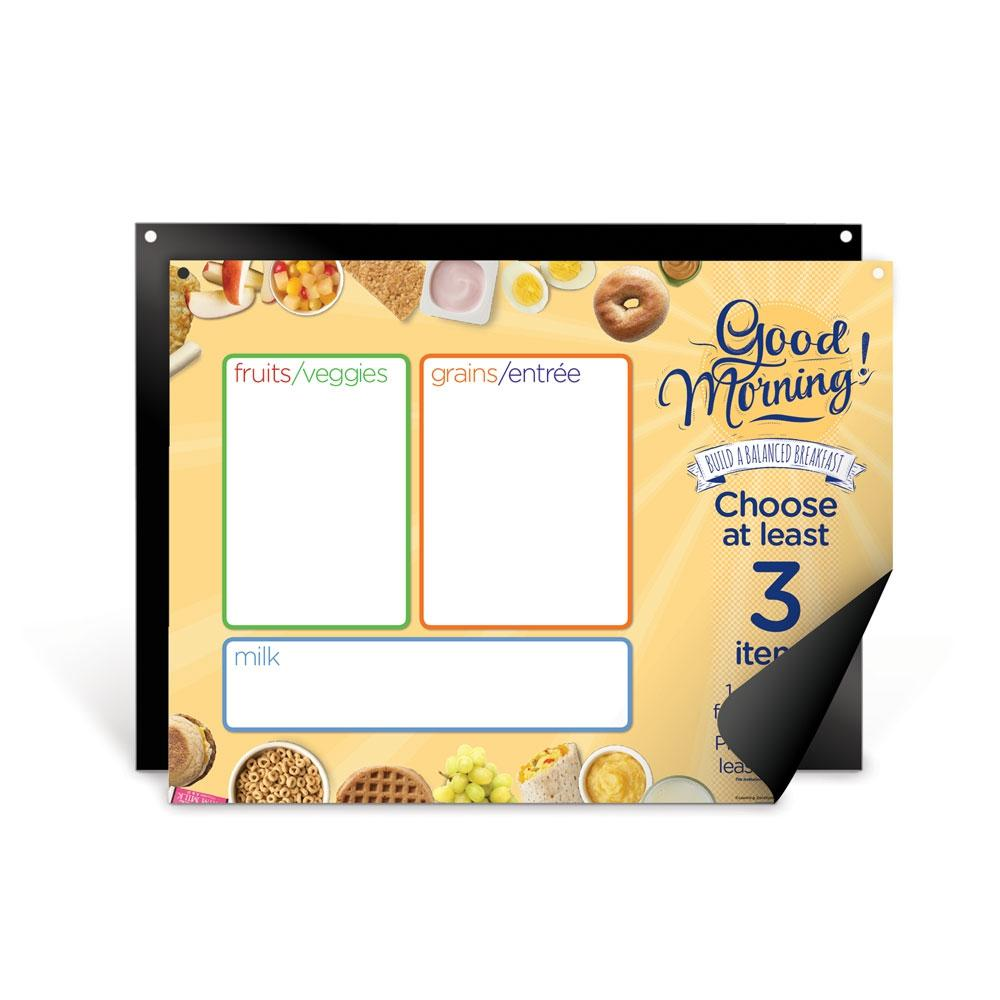 Breakfast Easy Mag-Mount Menu Panel and Board