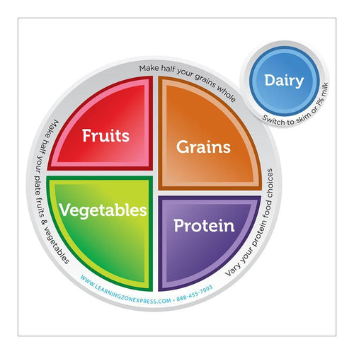 MyPlate Round Magnet for Portion Plate Guidance