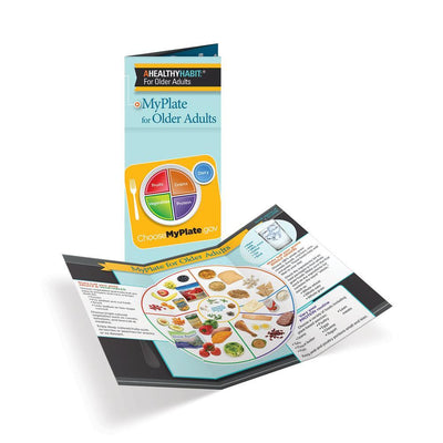 MyPlate for Older Adults Tri-Fold Brochures