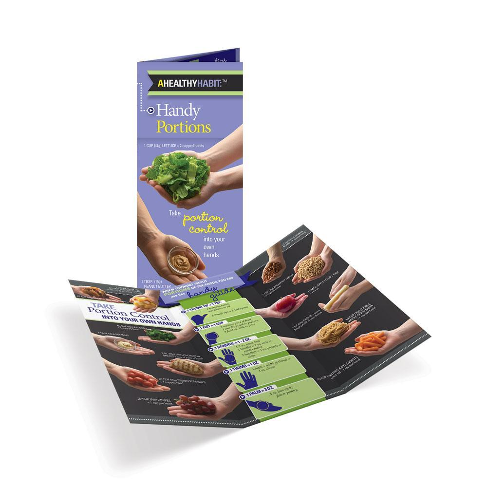 Handy Portions Tri-Fold Brochures