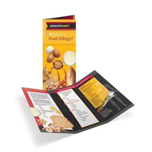 Food Allergies Tri-Fold Brochures