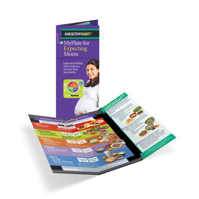 MyPlate for Expecting Moms Tri-Fold Brochures