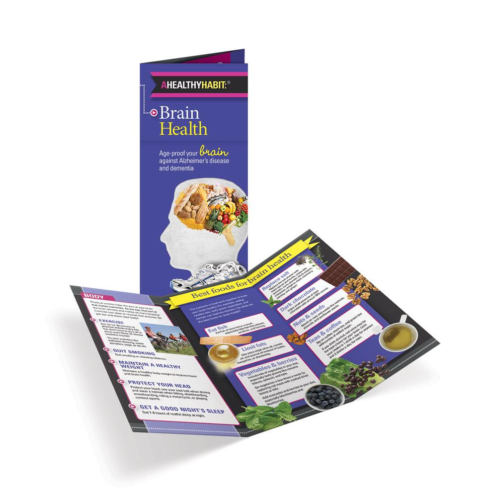 Brain Health Tri-fold Brochures