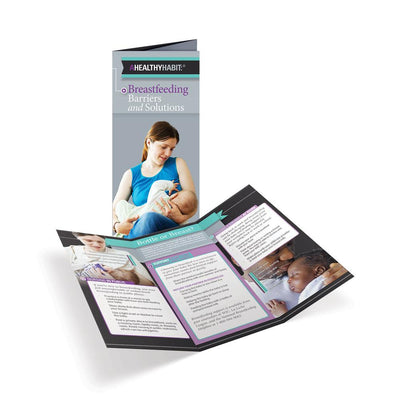 Breastfeeding Barriers and Solutions Tri-Fold Brochures