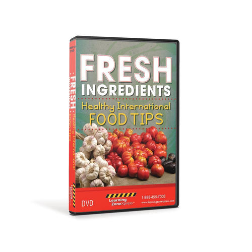 Fresh Ingredients: Healthy International Food Tips DVD