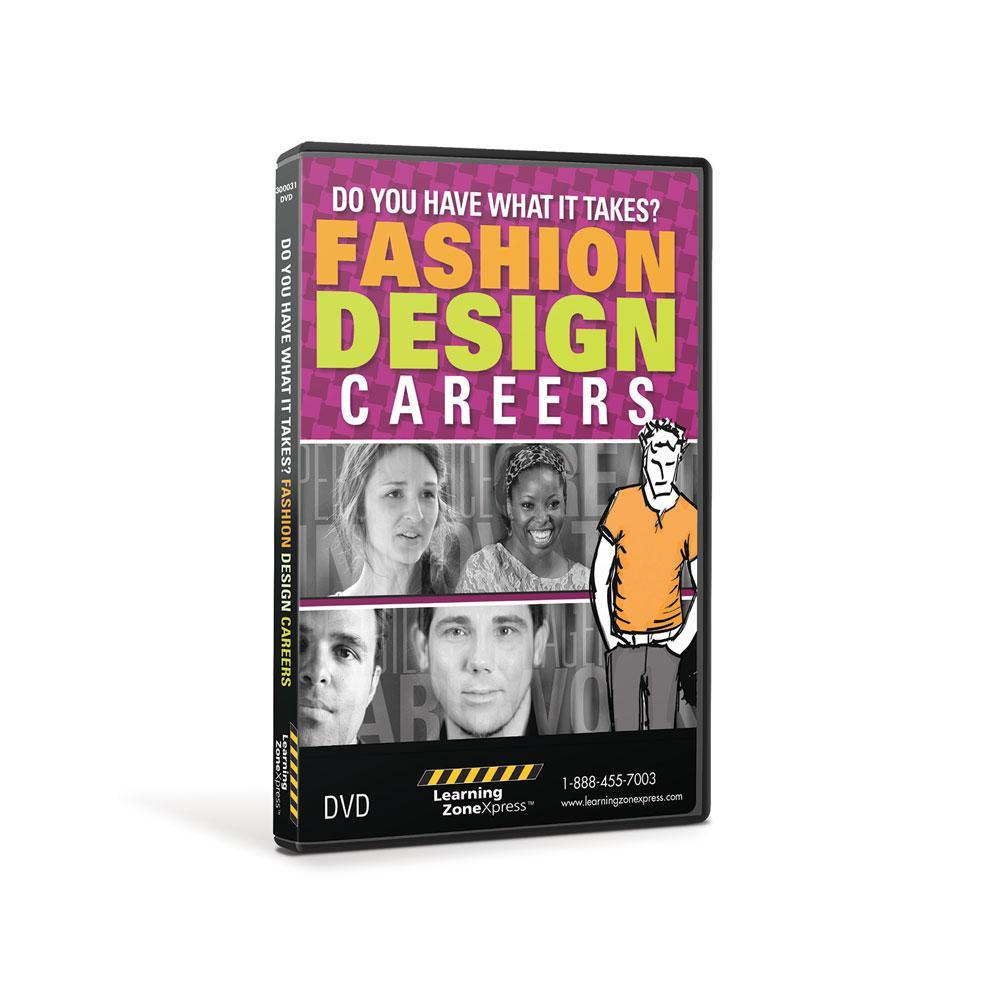Fashion Design Careers:  Do You Have What It Takes?  DVD