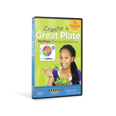 Create a Great Plate MyPlate Dietary Guidelines DVD