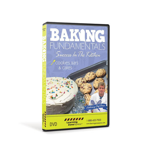 Baking Fundamentals: Cookies, Bars, and Cakes