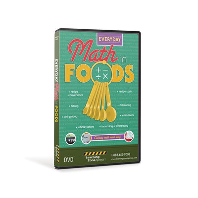 Everyday Math in Foods DVD