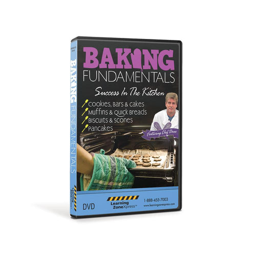 Baking Fundamentals: Success in the Kitchen DVD