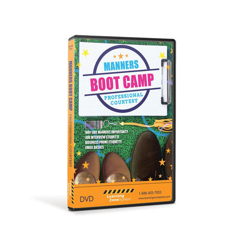 Manners Boot Camp:  Professional Courtesy DVD