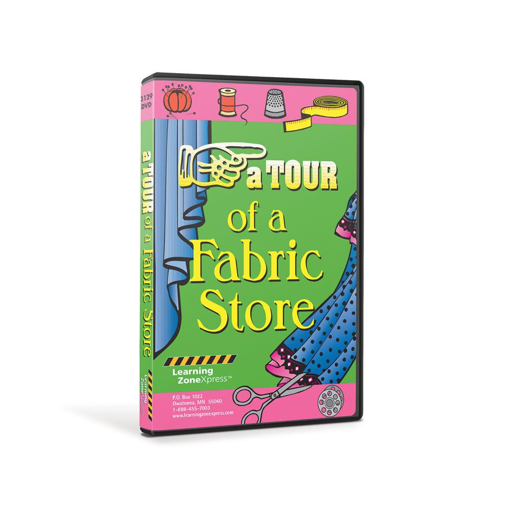 A Tour of a Fabric Store DVD
