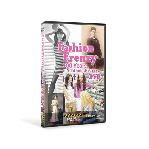 Fashion Frenzy: 100 Years of Clothing History DVD