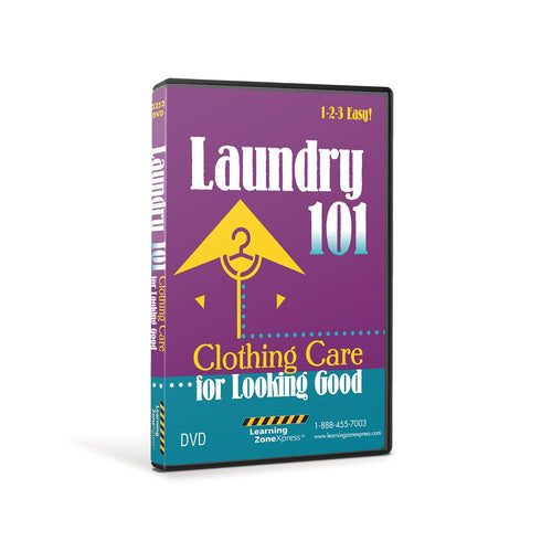 Laundry 101: Clothing Care for Looking Good DVD