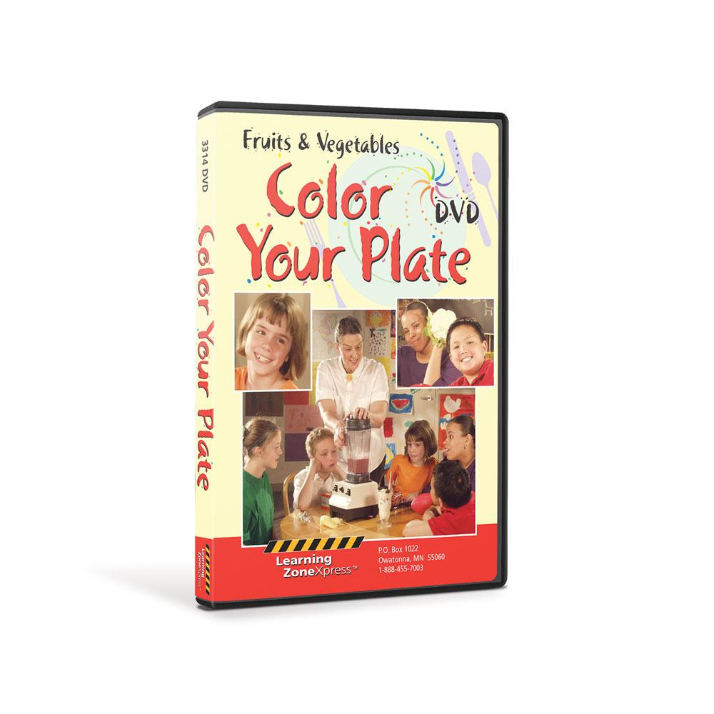 Fruits & Vegetables: Color Your Plate DVD