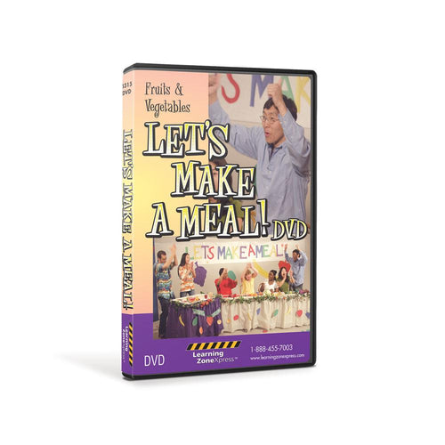 Fruits & Vegetables: Let's Make a Meal DVD