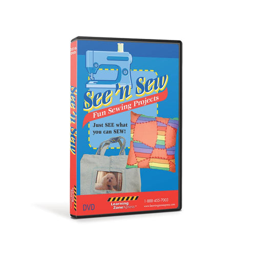 See 'N Sew Fun Sewing Projects DVD