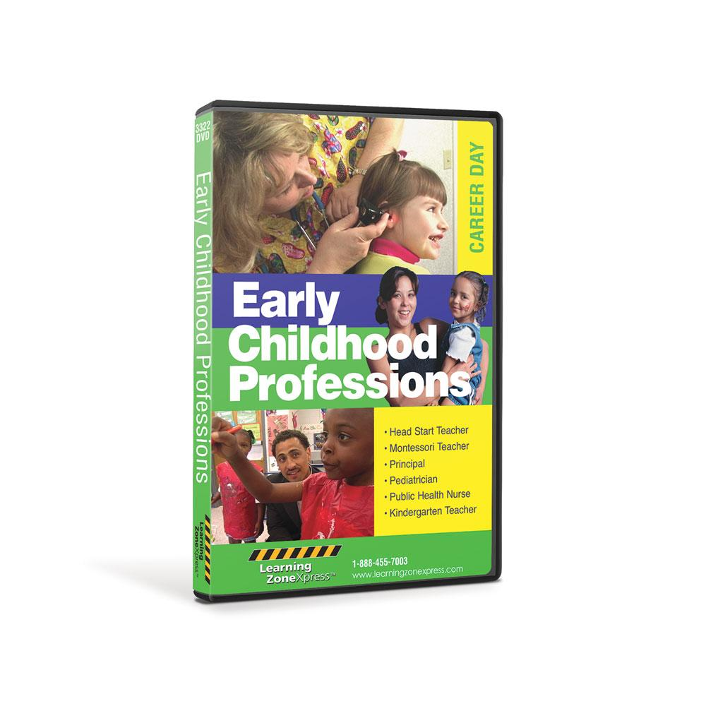 Early Childhood Professions DVD