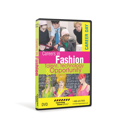 Careers in Fashion & Talent, Technology & Opportunity DVD