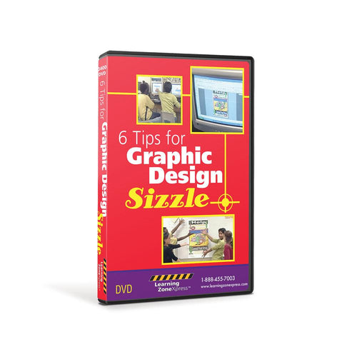 Six Tips for Graphic Design Sizzle DVD