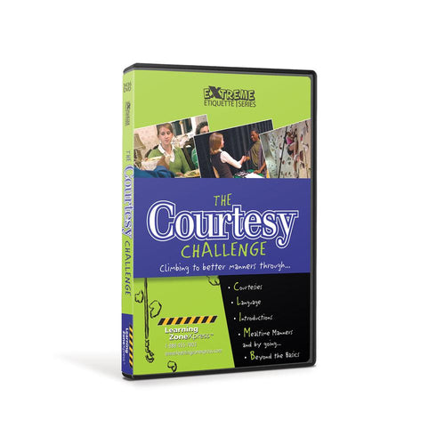 The Courtesy Challenge DVD