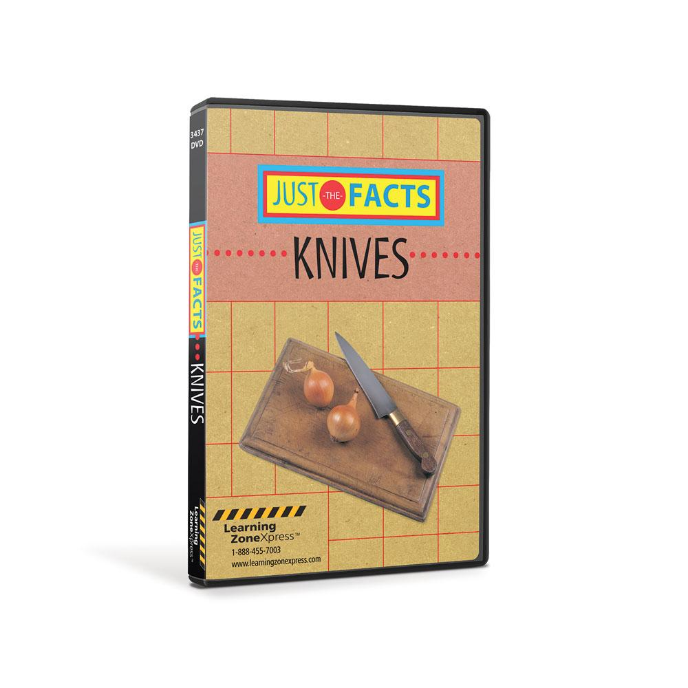 Just the Facts Knives DVD
