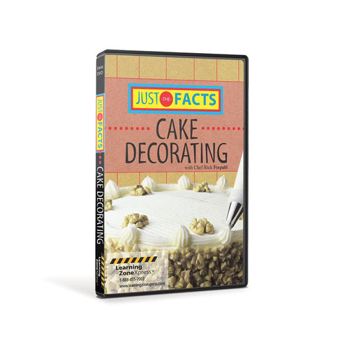 Just the Facts: Cake Decorating DVD