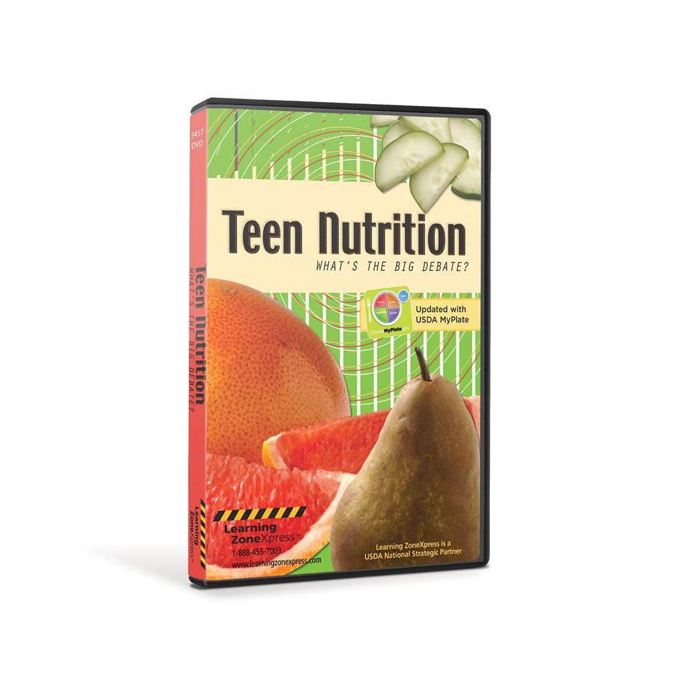 Teen Nutrition: What's The Big Debate? DVD