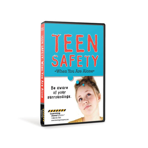 Teen Safety: When You are Alone DVD