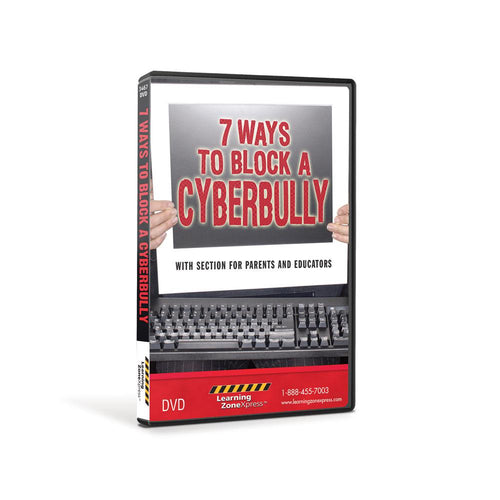 7 Ways to Block a Cyberbully DVD