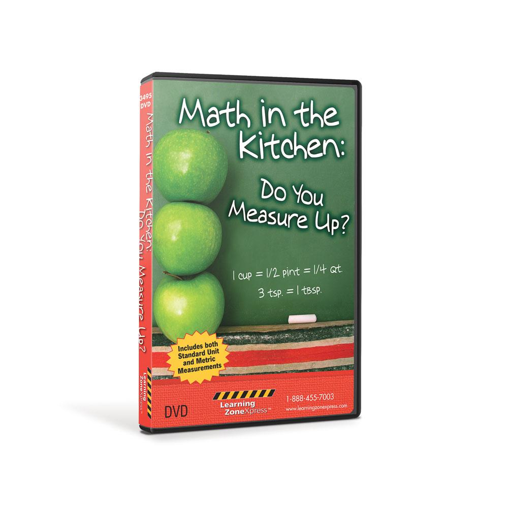Math in the Kitchen: Do You Measure Up? DVD