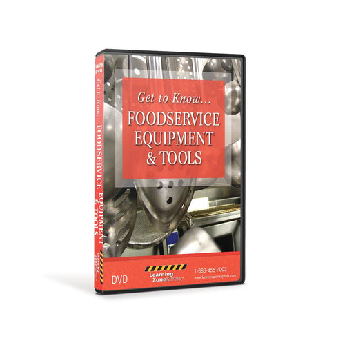 Foodservice Equipment and Tools DVD