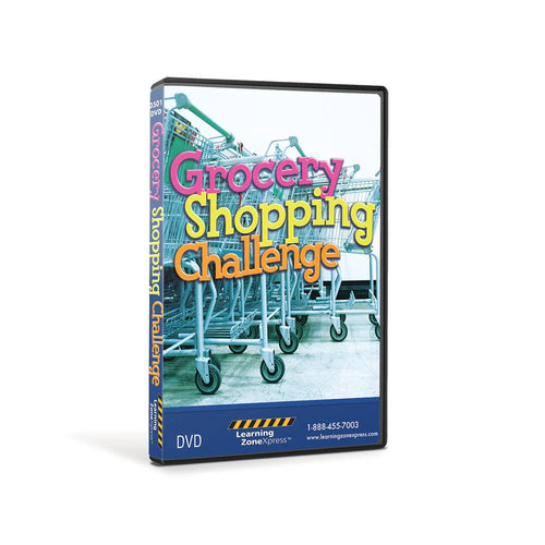 The Grocery Shopping Challenge DVD