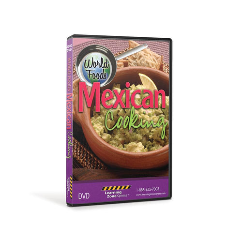World Foods: Mexican Cooking DVD