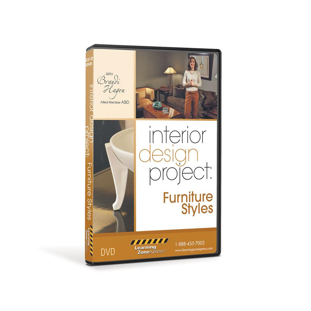Interior Design Project: Furniture Styles DVD