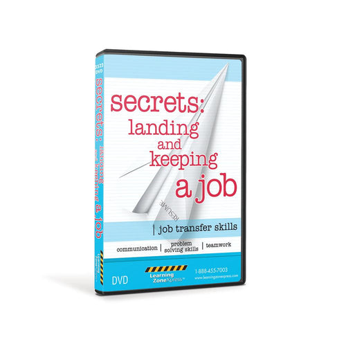 Secrets: Landing and Keeping a Job DVD