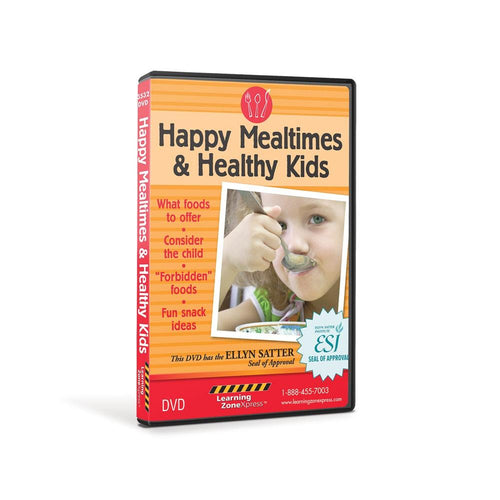 Happy Mealtimes & Healthy Kids DVD