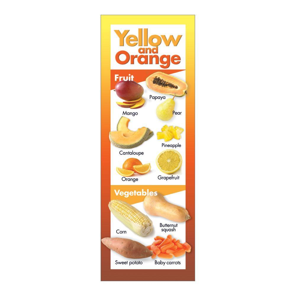Fruits and Vegetables by Color | Yellow Orange